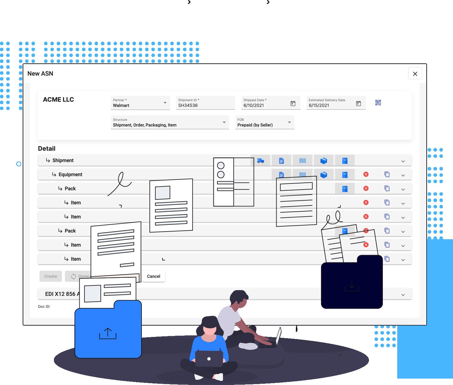 Automated Secure B2B File Transfer